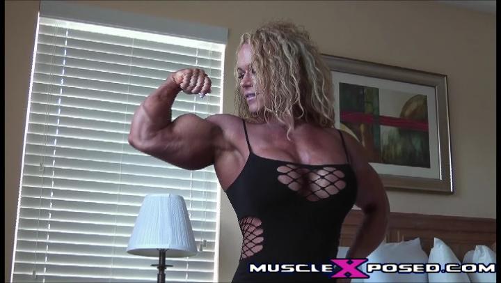Aleesha Young: Voluptuous Muscle Goddess MuscleXposed Video Screenshot
