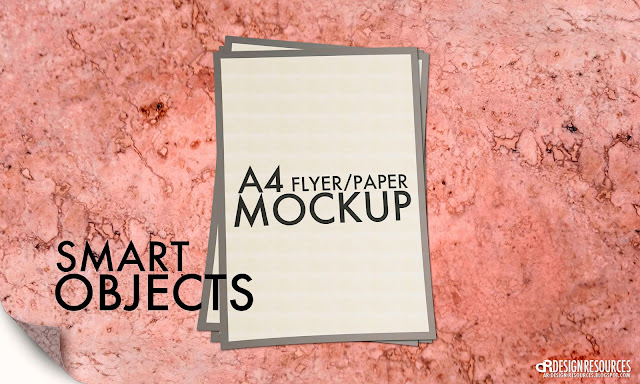 A4 Flyer/Paper Mock-Up