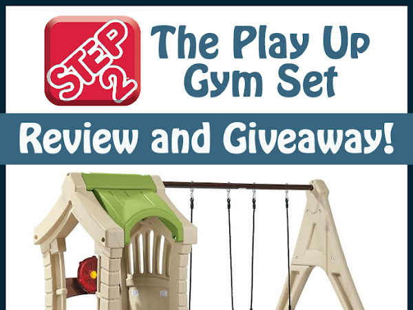 Get Ready for Spring with a Step2 Play Up Gym Set Giveaway! CLOSED