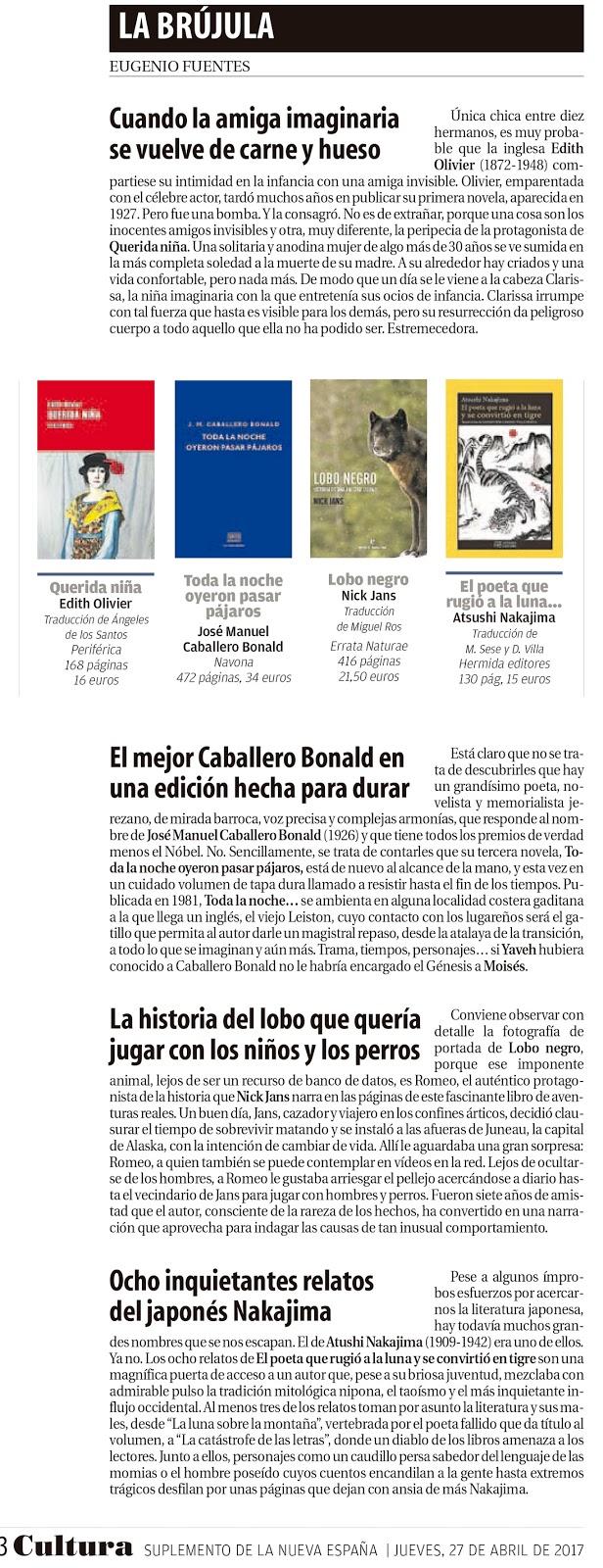 Hermida Editores: mayo 2017