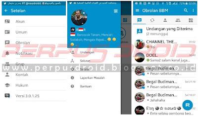 Download Dual BBM Mod BBM2,BBM3,BBM4 Versi 3.0.1.25 Apk Terbaru