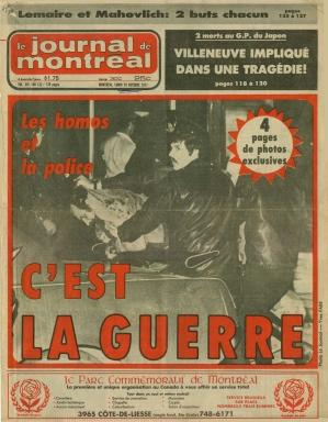 from Zavier bar gay montreal le mystique