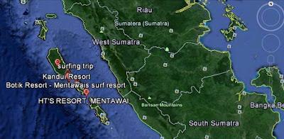 foto kondisi gempa di kepulauan mentawai sumatera barat