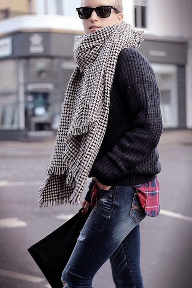 streetstyle_oversized scarves