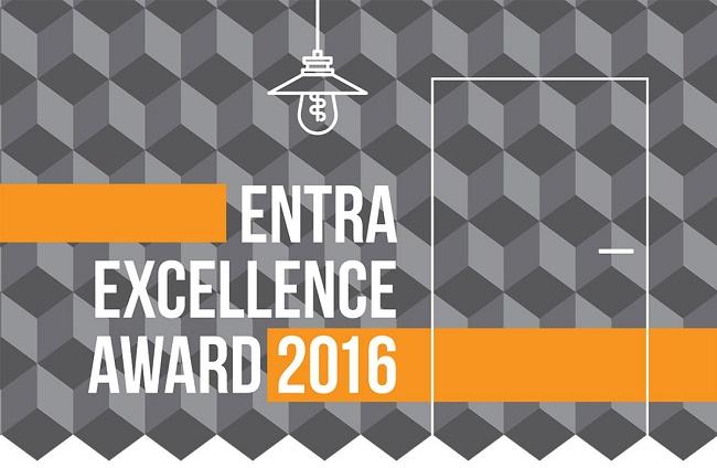 Logo konkursu Entra Excellence Award 2016