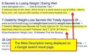 Meta Description di dalam pencarian google sangat berguna untuk menaikkan visitor