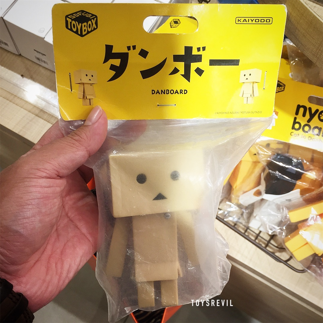 DanBoard & NyanBoard at Tokyu Hands - My Toyhunt Adventures in Singapore