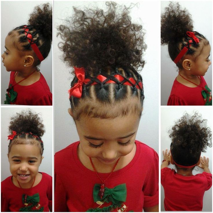 Black Baby Girl Hairstyles For Short Hair