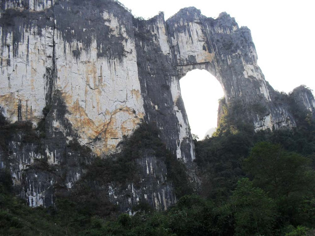 Arco natural de Nanxu – China