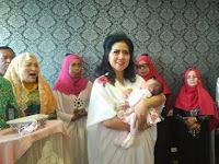 Ingat Venna Melinda Pernah Adopsi Bayi Perempuan? Si Kecil Kini Makin Cantik Dan Banjir Pujian Netizen