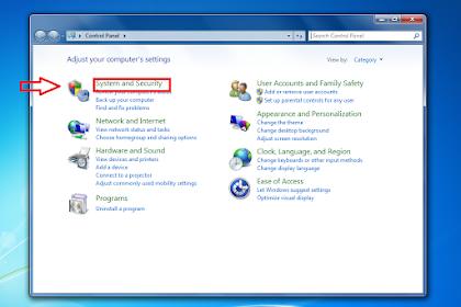 Menonaktifkan Update Pada Windows 7