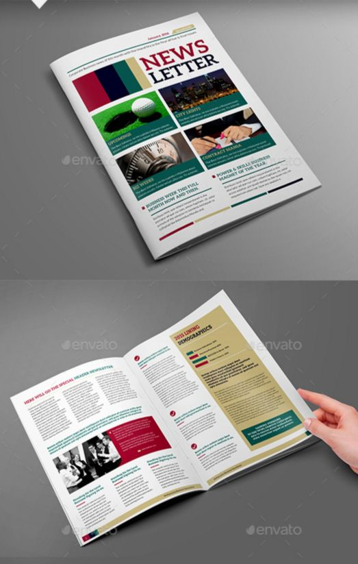 27. Multipurpose Newsletter Template V7
