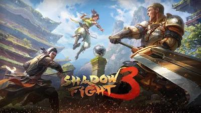 تحميل لعبة مقاتل الظلال الاسطوري الجزء الثالت من اللعبة Shadow Fight 3 مهكرة