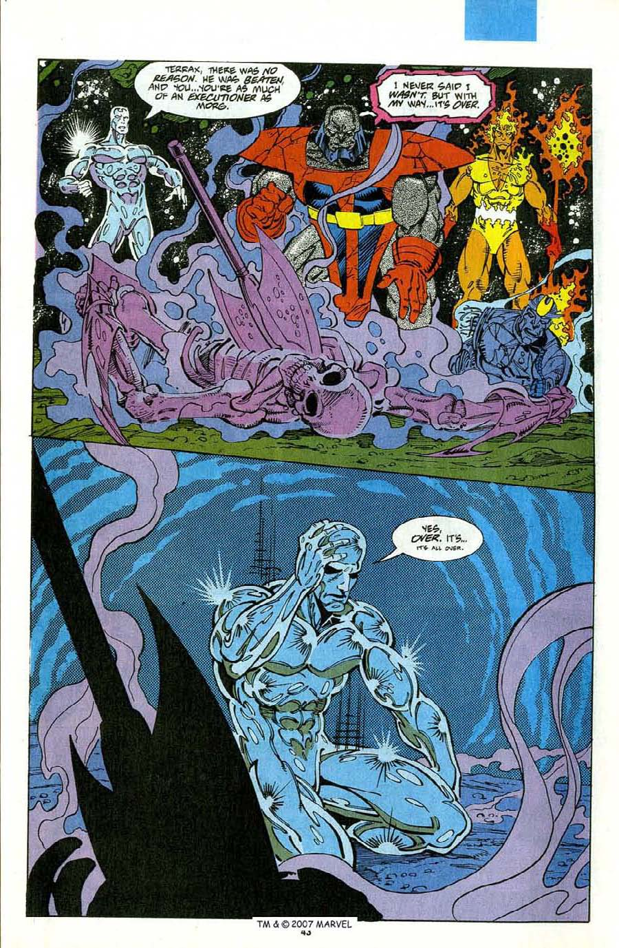 Read online Silver Surfer (1987) comic -  Issue #75 - 45