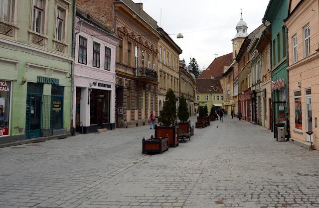 Imagen de las calles de Brasov
