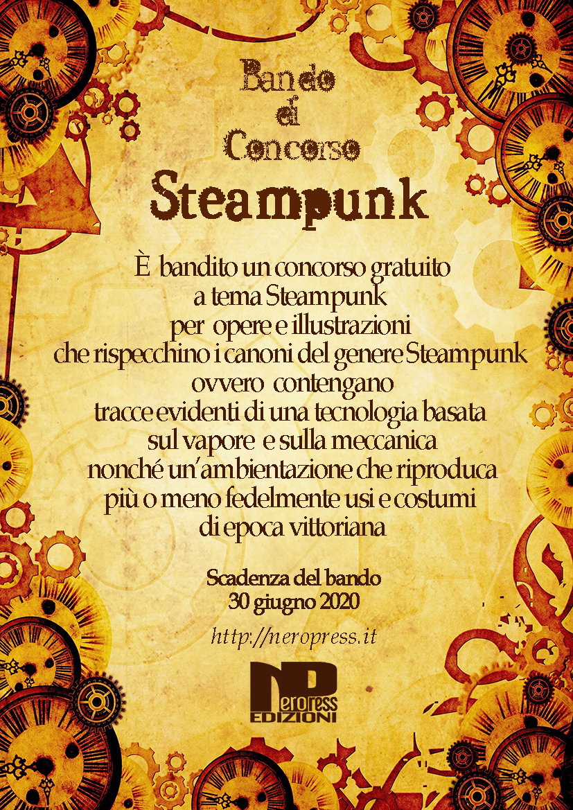 CONCORSO STEAMPUNK Nero Press