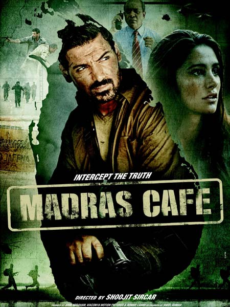 Madras Cafe 2013 Hindi 480P BrRip 400MB, Madars Cafe 2013 Hindi Movie HD BrRip Blu Ray 480P Original Direct Download Single Links 350MB