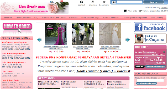 Supplier Baju Muslim First Hand Can Ecer Dropship