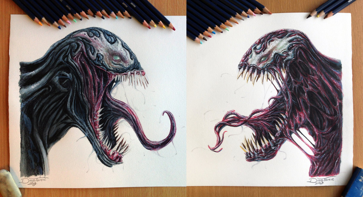 20-Venom-Carnage-Color-pencil-Drawing-Dino-Tomic-AtomiccircuS-Drawing-Painting-Tips-and-Digital-Art-www-designstack-co