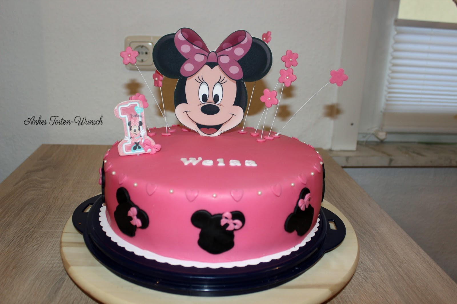 Minnie Maus Kuchen Rezept Minnie Maus Thema Carrie Dot