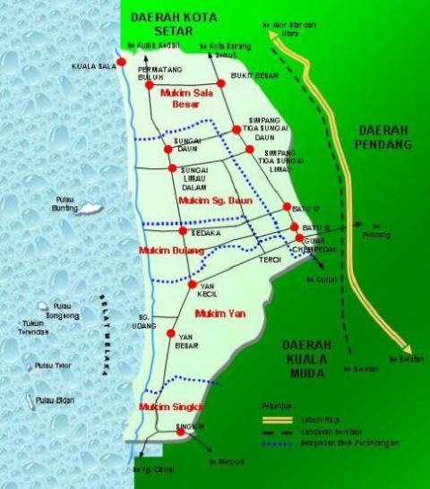 Sejarah Daerah Yan Kedah Nun Kalam Blogspot