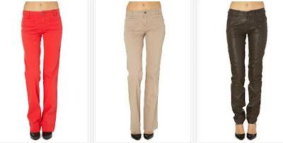 Pantalones baratos para mujeres