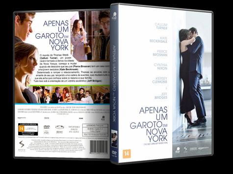 Capa DVD Apenas Um Garoto em Nova York [Custom]