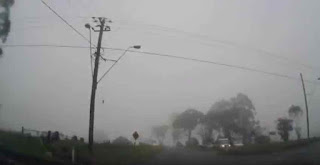 Mount Tambourine Scenic Drive in Foggy Condition Year 2013