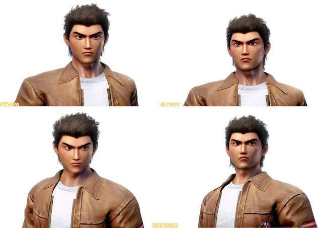 Images of Ryo released by Famitsu.com