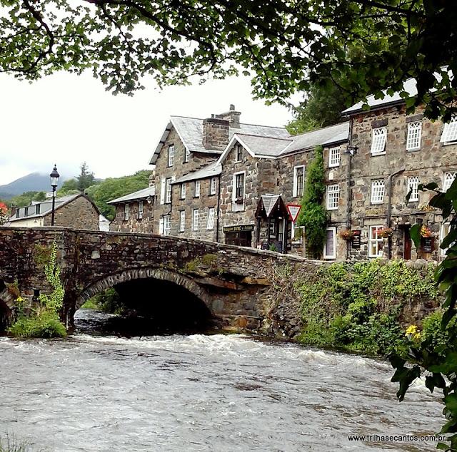 Cidadezinhas lindas Bedgelert Gales