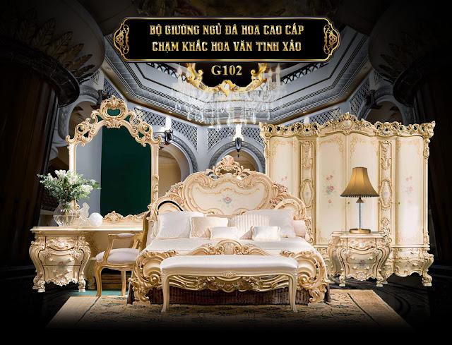 Giường ngủ G102