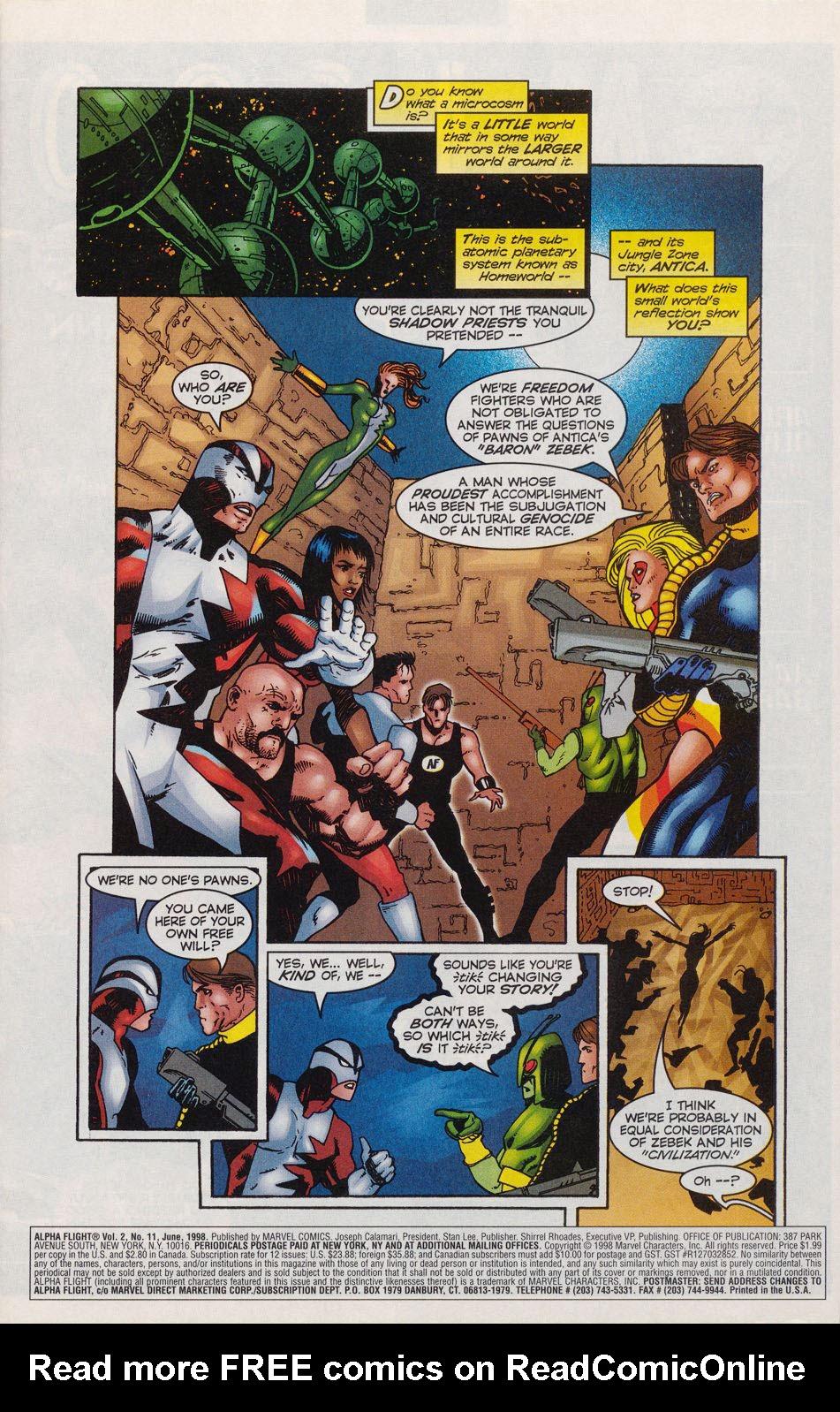 Read online Alpha Flight (1997) comic -  Issue #11 - 2