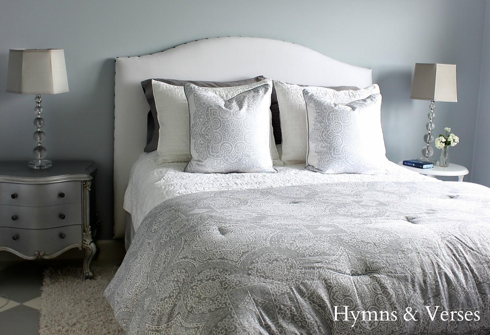 Hymns And Verses Diy Upholstered Headboard Tutorial