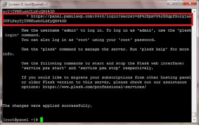 Cara Install Plesk di VPS Centos 7 64 bit