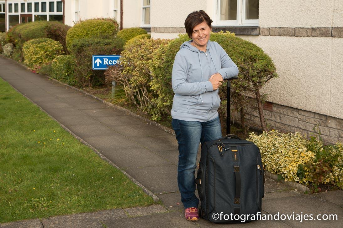 viajar con maleta de cabina más de un mes