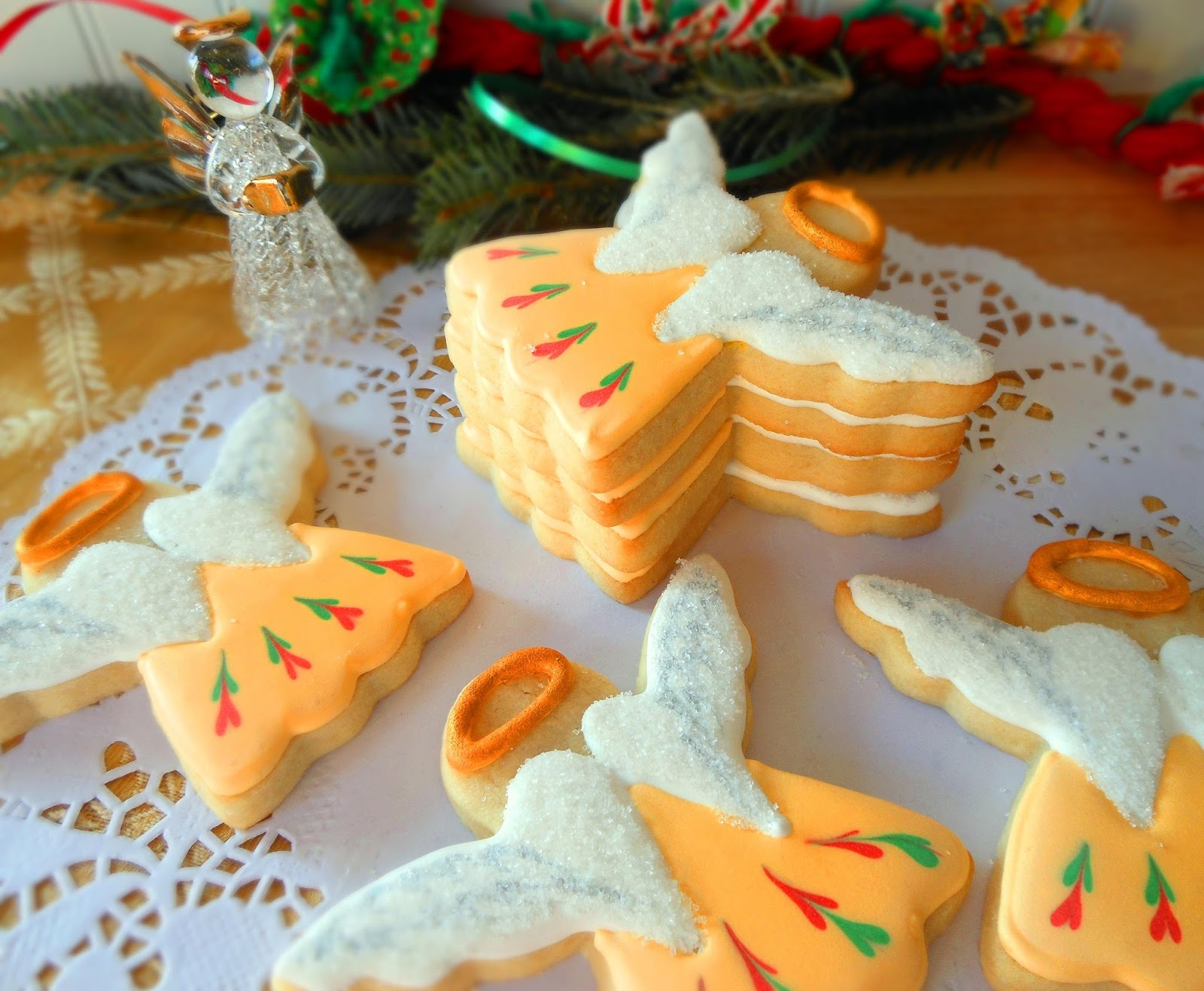 My Cookie Clinic Christmas Angel Cookies What S An Angel