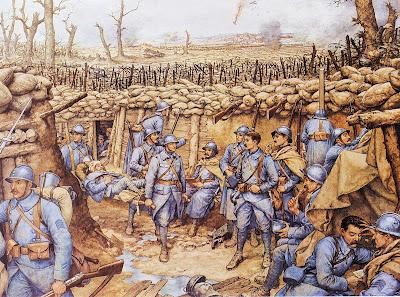 """""""Verdun"""" panneau Rossignol"""