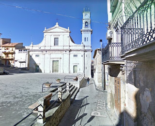 he Chiesa Madre di San Giuseppe on the main square in Vizzini's home town of Villalba