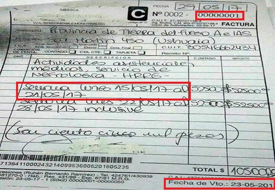 Ministro de salud desminti sueldo de medicos cronicas for Sueldos del ministerio del interior