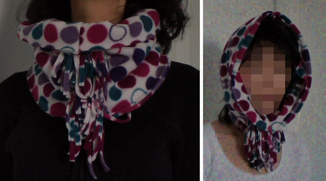 Scarf into cowl tutorial by eSheep Designs