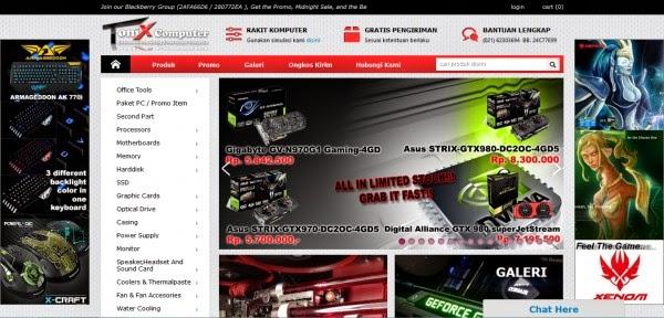 Tonixcomp.net Toko Online Komputer Terpercaya