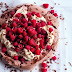 Nigella Lawson's chocolate raspberry pavlova