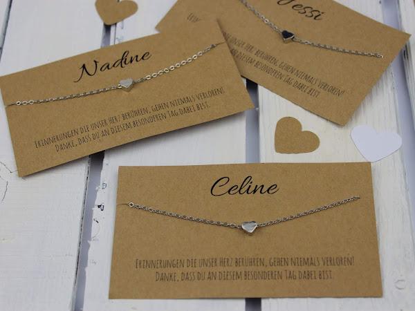 DIY personalisiertes Gastgeschenk zur Hochzeit speziell für Frauen - mit Liebe selber gemacht + kostenlose Vorlage