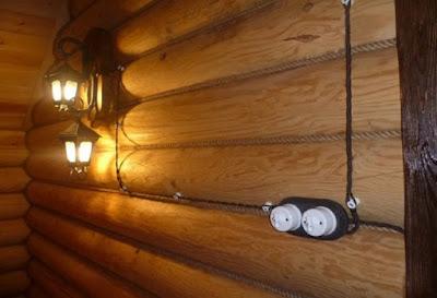 Электрическая проводка в кабель-каналах и трубах в частном доме