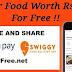 Swiggy Loot Offer Rs. 200 Food for Free