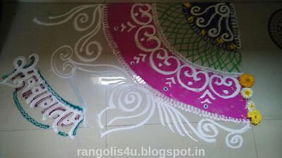 Collection of Welcome Rangolis