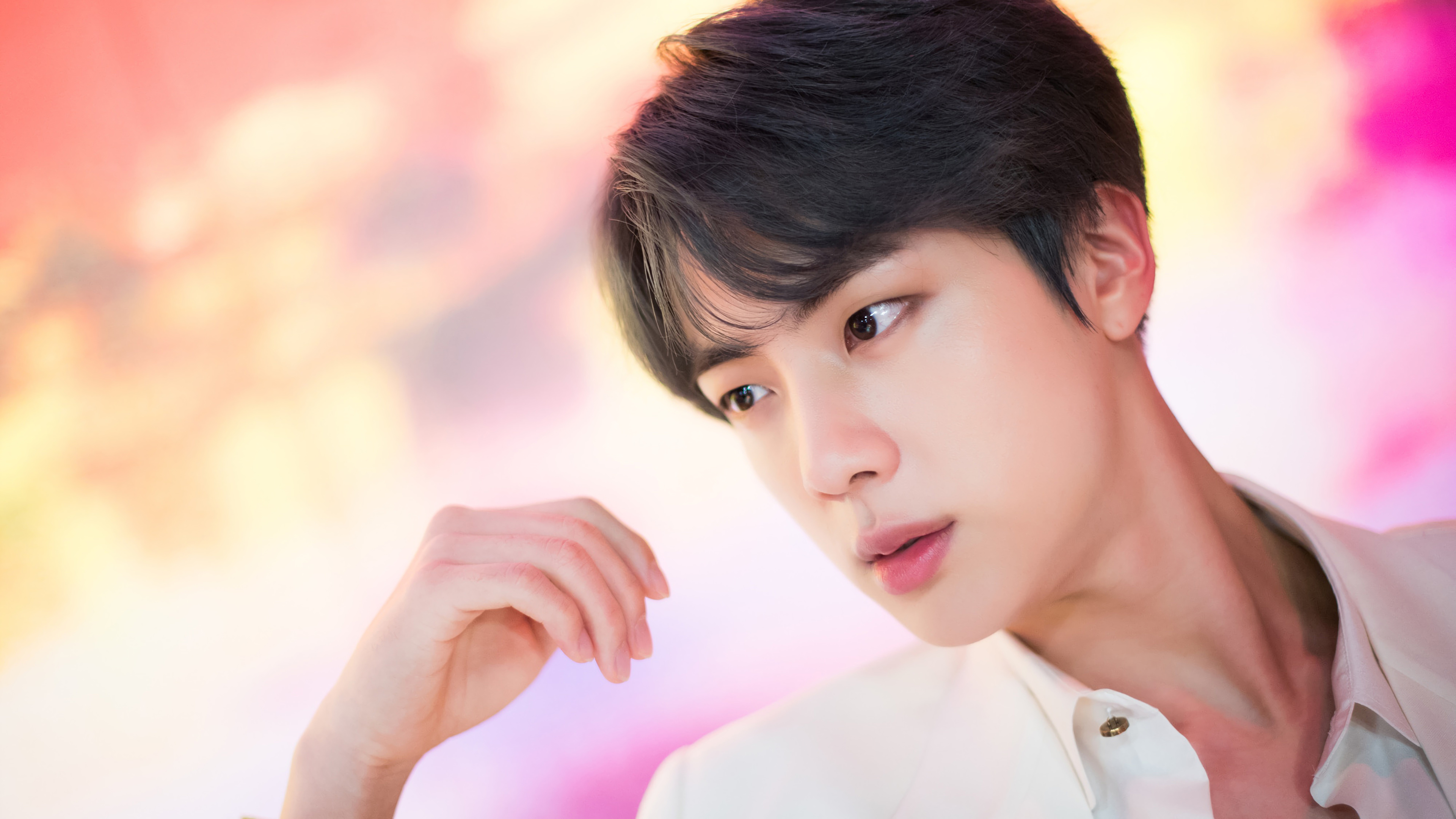 jin bts boy with luv uhdpaper.com 4K 112