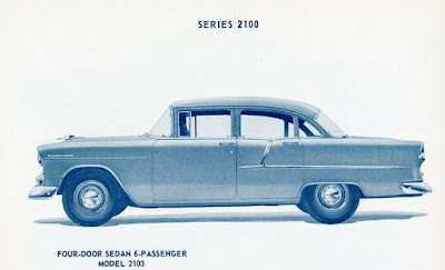 1955 Chevy Spotters Guide Photos