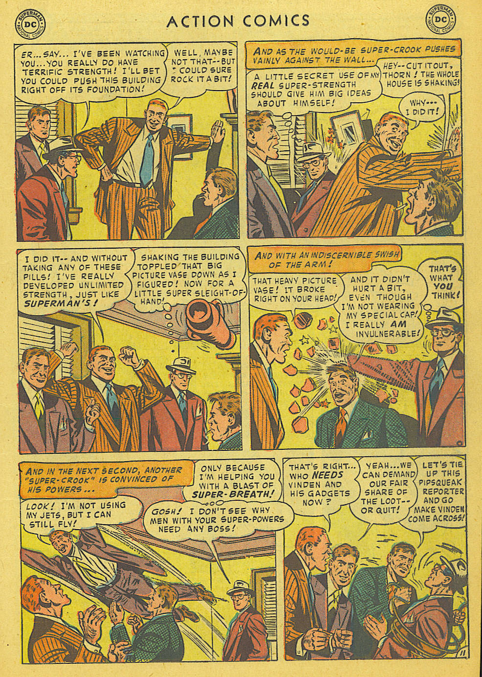 Read online Action Comics (1938) comic -  Issue #175 - 13
