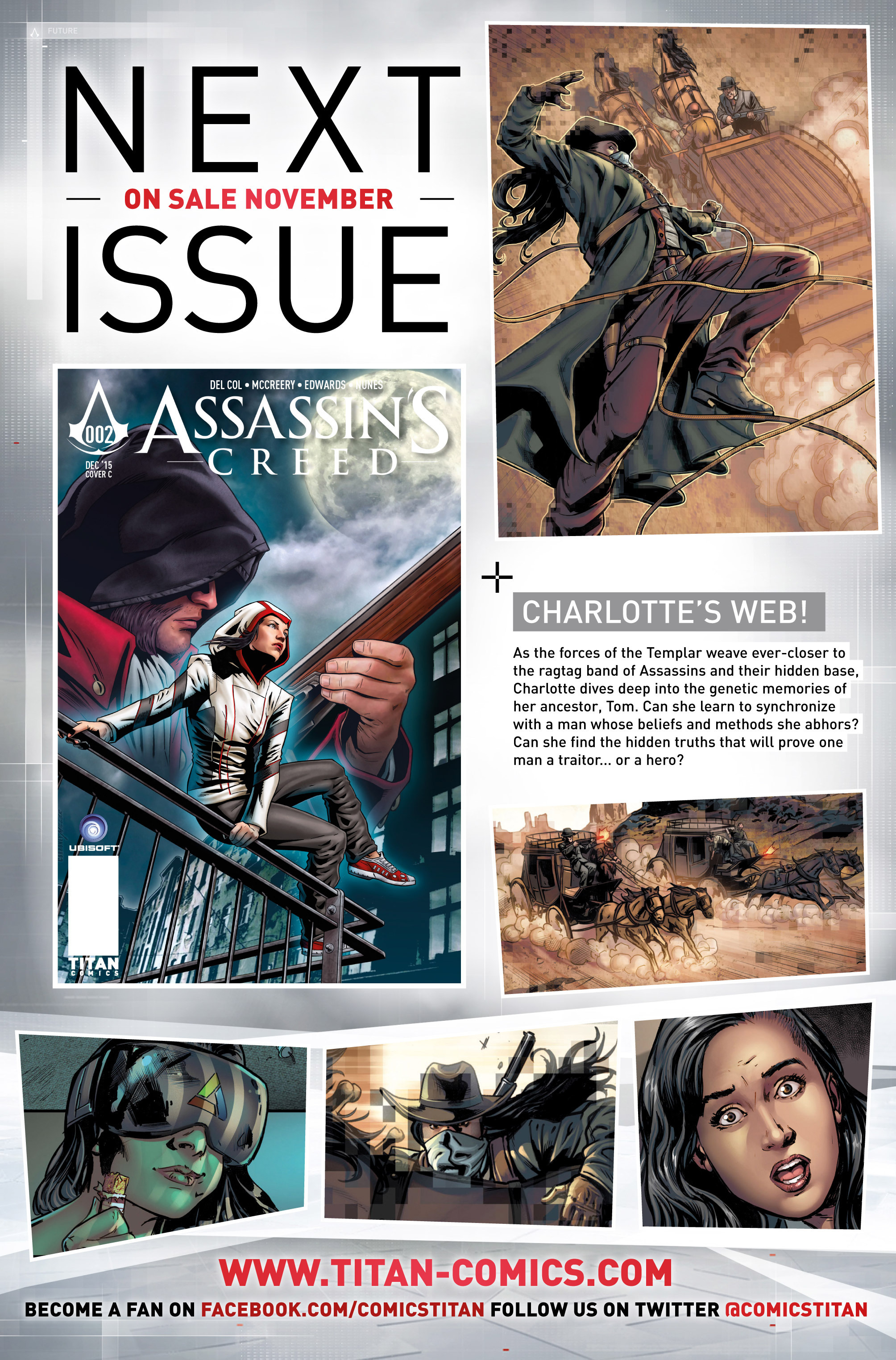 Read online Assassin's Creed (2015) comic -  Issue #1 - 30